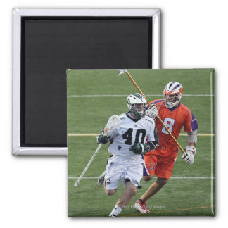 UNIONDALE, NY - AUGUST 13:  Matt Danowski #40 11 2 Inch Square Magnet
