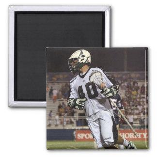 UNIONDALE, NY - JULY 16:  Matt Danowski #40 5 2 Inch Square Magnet