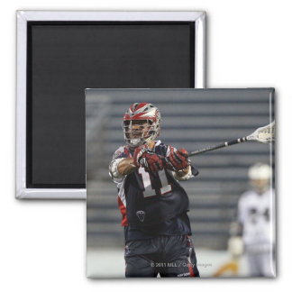 UNIONDALE, NY - JULY 16:  Matt Smalley #11 2 Inch Square Magnet