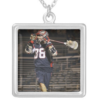 UNIONDALE, NY - JULY 16:  Max Quinzani #88 Silver Plated Necklace