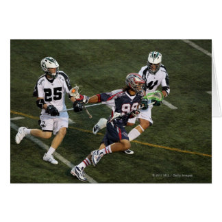 UNIONDALE, NY - JULY 16: Paul Rabil #99 Greeting Card