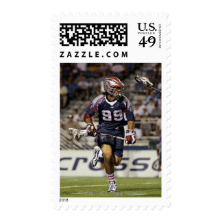 UNIONDALE, NY - JULY 16:  Paul Rabil #99 Postage