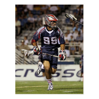UNIONDALE, NY - JULY 16:  Paul Rabil #99 Post Cards