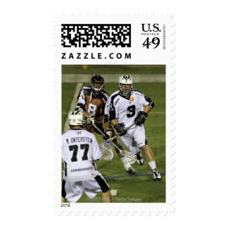UNIONDALE, NY - JULY 28:  Adam Rand #3 Postage Stamp