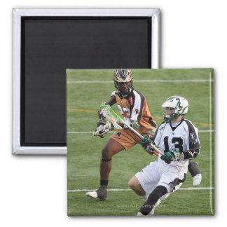 UNIONDALE, NY - JULY 28:  Stephen Berger #13 4 2 Inch Square Magnet