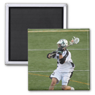 UNIONDALE, NY - JULY 28:  Stephen Peyser #18 3 2 Inch Square Magnet