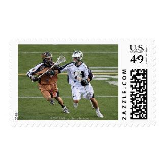 UNIONDALE, NY - JULY 28:  Stephen Peyser #18 4 Postage Stamp
