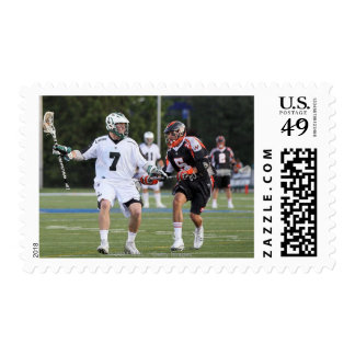 UNIONDALE, NY - JUNE 03:  Keith Cromwell #7 Postage Stamp