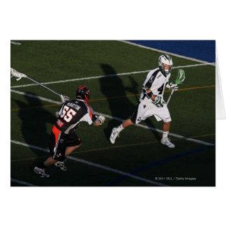 UNIONDALE, NY - JUNE 03:  Matt Danowski #40 4 Card