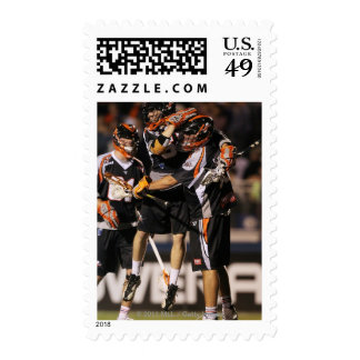 UNIONDALE, NY - JUNE 03:  Peet Poillon #57 and Postage Stamps