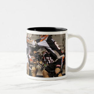 UNIONDALE, NY - JUNE 03:  Stepehn Peyser #18 Two-Tone Coffee Mug