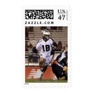 UNIONDALE, NY - JUNE 03:  Stephen Peyser #18 5 Stamp