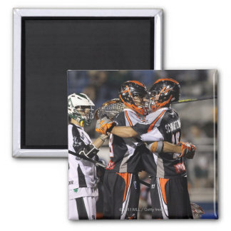 UNIONDALE, NY - JUNE 03:  Steven Holmes #8 and Refrigerator Magnets