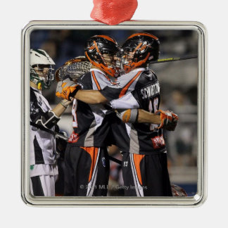 UNIONDALE, NY - JUNE 03:  Steven Holmes #8 and Metal Ornament