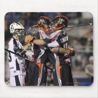 UNIONDALE, NY - JUNE 03:  Steven Holmes #8 and Mouse Pad