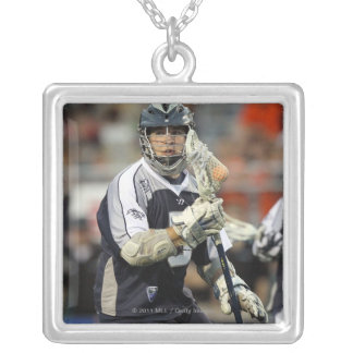 UNIONDALE, NY - JUNE 16:  Alex Smith #5 Silver Plated Necklace