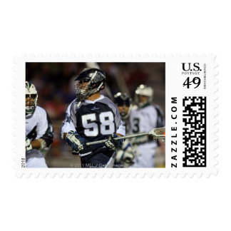 UNIONDALE, NY - MAY 21:  Paul Richards #58 Stamps