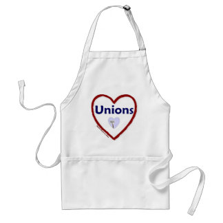 Uniones del amor delantal