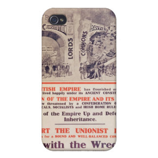Unionist Party Poster for British General iPhone 4/4S Cover