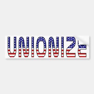 Unionize Bumper Sticker