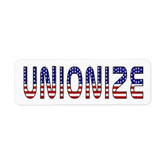 Unionize Label