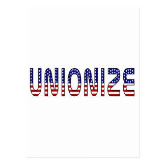 Unionize Postcard