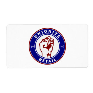 Unionize Retail Shipping Label