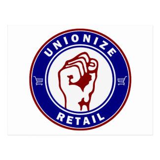 Unionize Retail Postcard