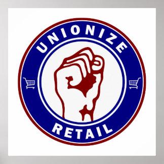Unionize Retail Poster