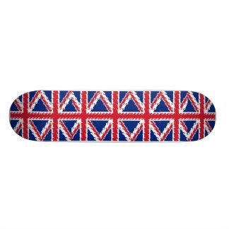 UnionJack curls Skateboard