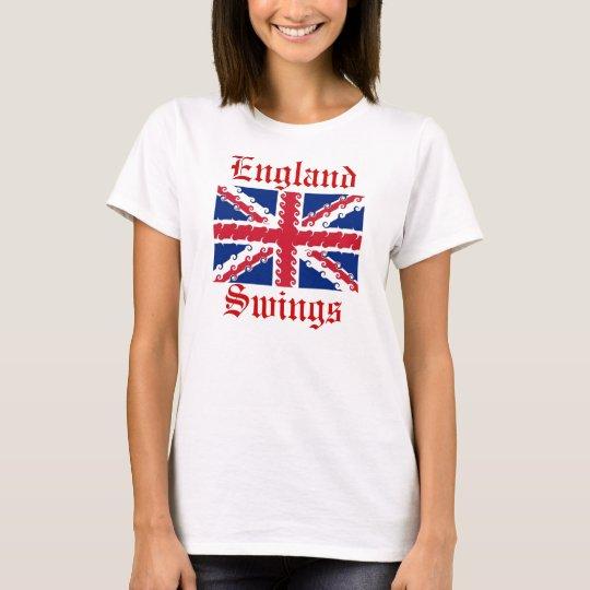 UnionJack, England, Swings T-Shirt