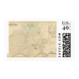 Unionport, W Chester, New York Postage