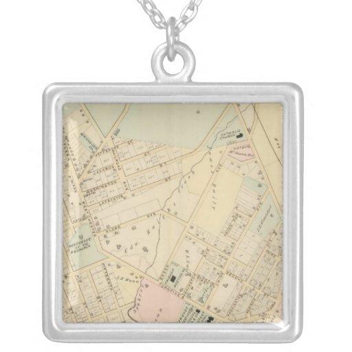 Unionport, W Chester, New York Square Pendant Necklace