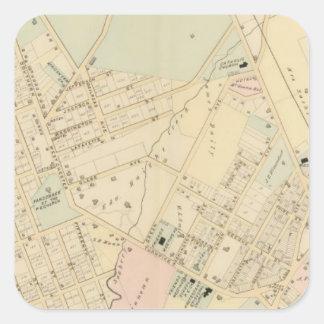 Unionport, W Chester, New York Square Sticker