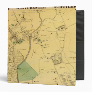 "Unionport, Westchester, Schuylerville Carpeta 1 1/2"""