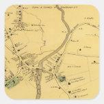 Unionport, Westchester, Schuylerville Calcomanías Cuadradass