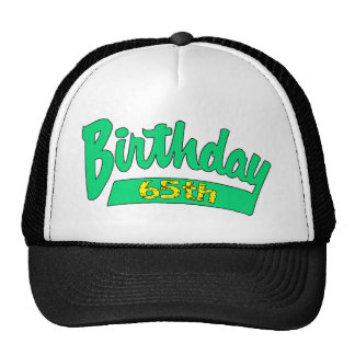 Unique 65th Birthday Gifts Hat