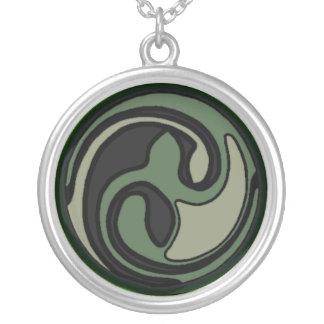 Unique Abstract Celtic Artwork Necklace