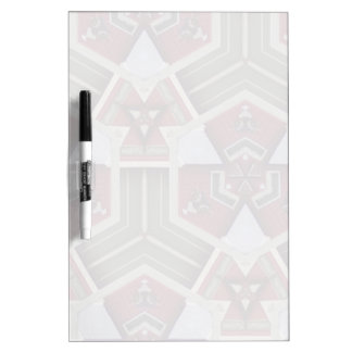 Unique abstract pattern Dry-Erase board