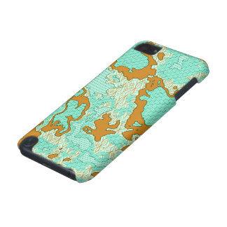 Unique abstract pattern mix 2F iPod Touch (5th Generation) Case