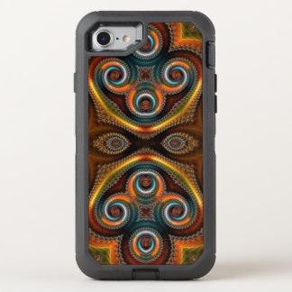 Unique Abstract Pattern OtterBox Defender iPhone 7 Case