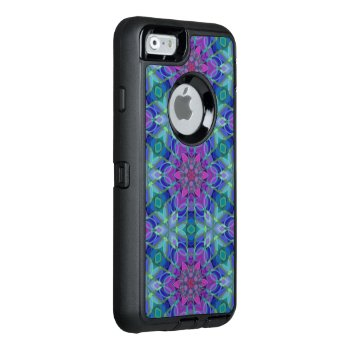 Unique Abstract Pattern Otterbox Defender Iphone Case by TeensEyeCandy at Zazzle