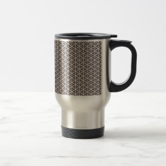 Unique Abstract Trellis Pattern Coffee Mug