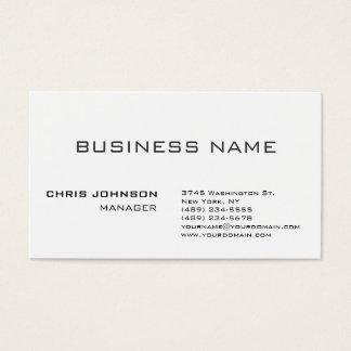 Unique amazing professional design business card