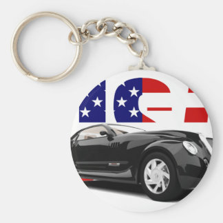 Unique American Car Keychains