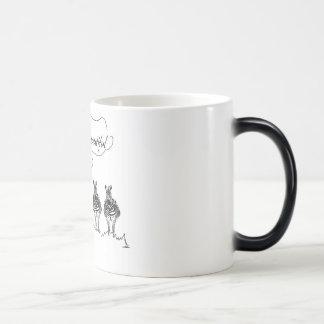 Unique and beautiful magic mug