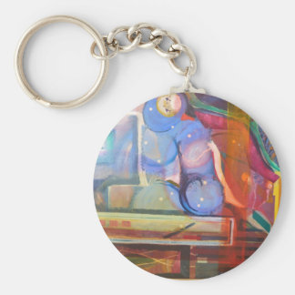 unique and colorful trendy home decor keychain