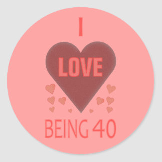 Unique and Fun Stickers for 40 Year Olds