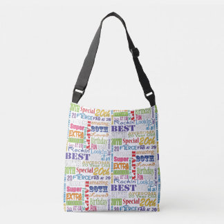 Unique And Special 20th Birthday Party Gifts Crossbody Bag