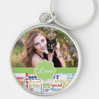 Unique And Special 20th Birthday Party Gifts Keychain